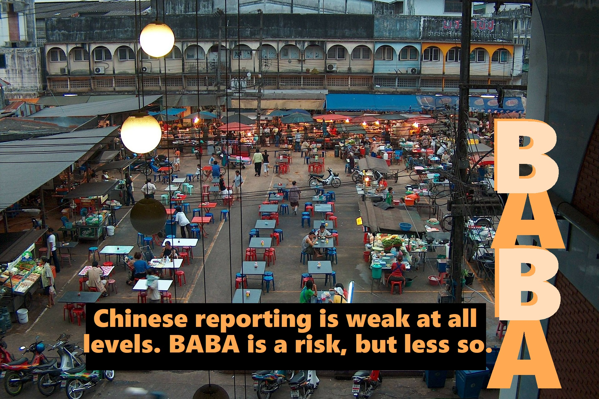 Graphic, BABA market