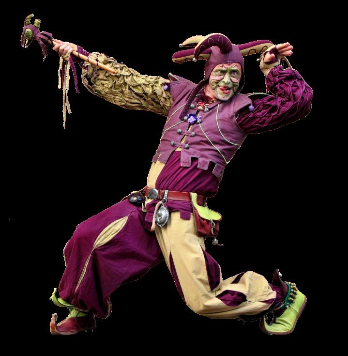 jester, musician