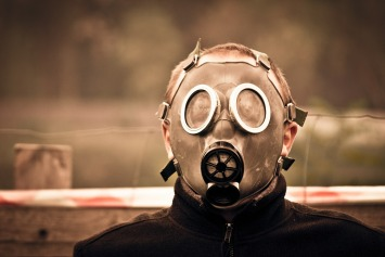 War gas. The mechanized face of non-stop conflict.