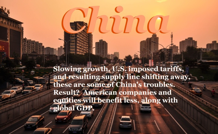 Graphic, China, troubles