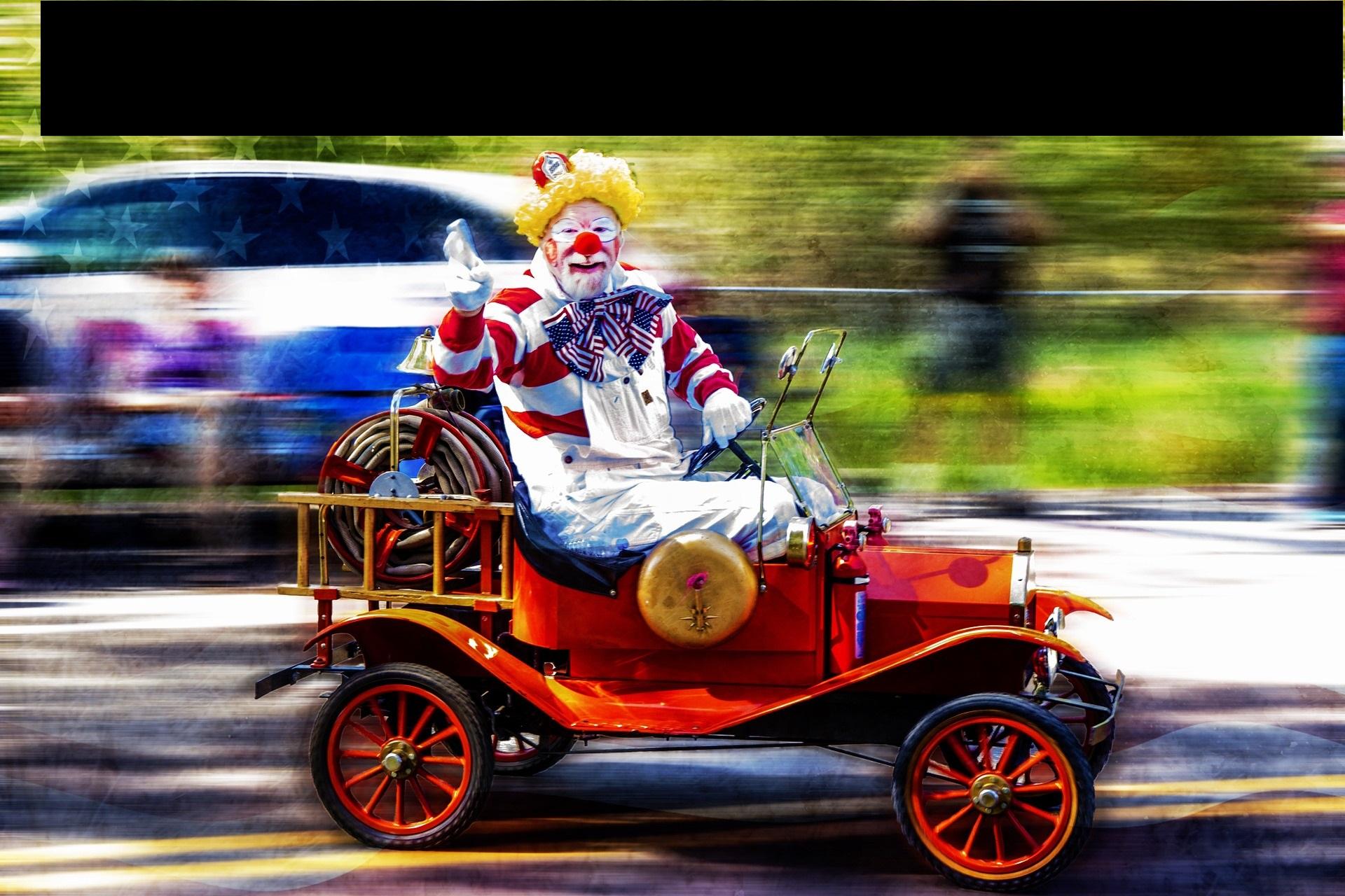 car clown