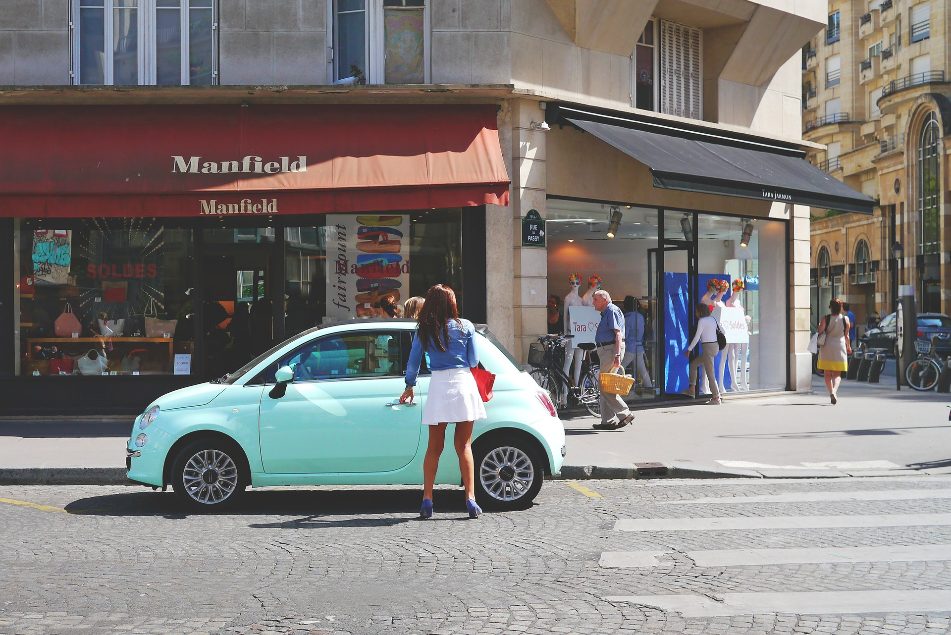 woman, Paris
