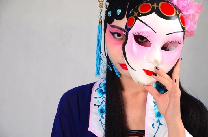 China, womn, opera