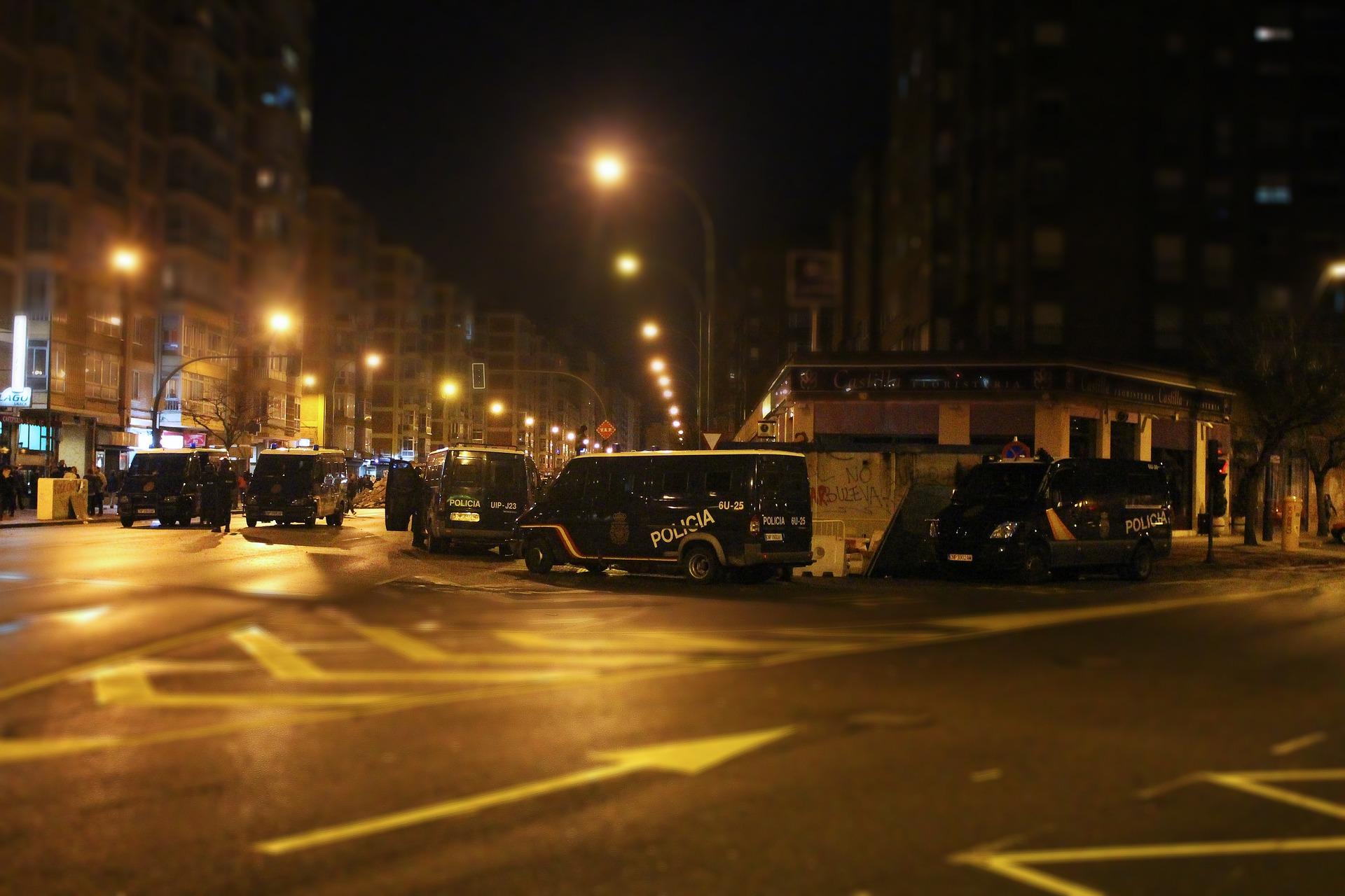 riot, street