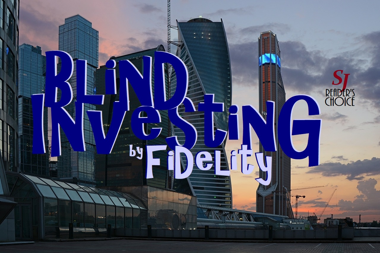 Graphic, cover, Blind Investing