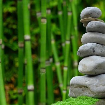 Zen garden. Quintessential Japanese design.