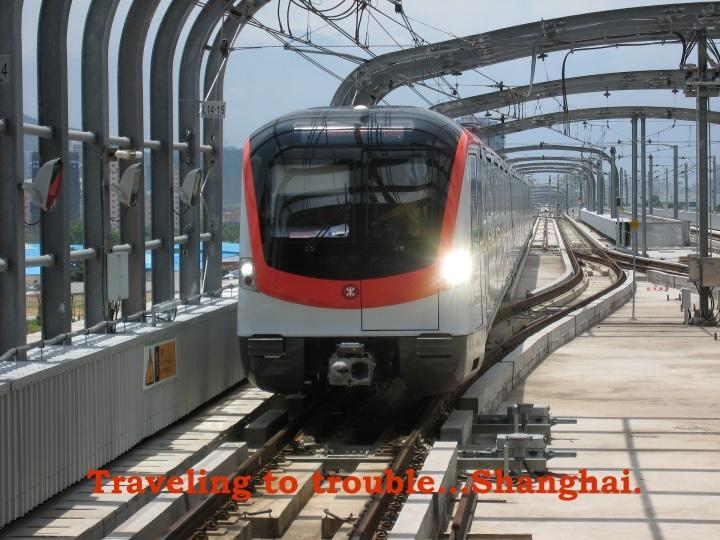 Graphic, metro shanghai