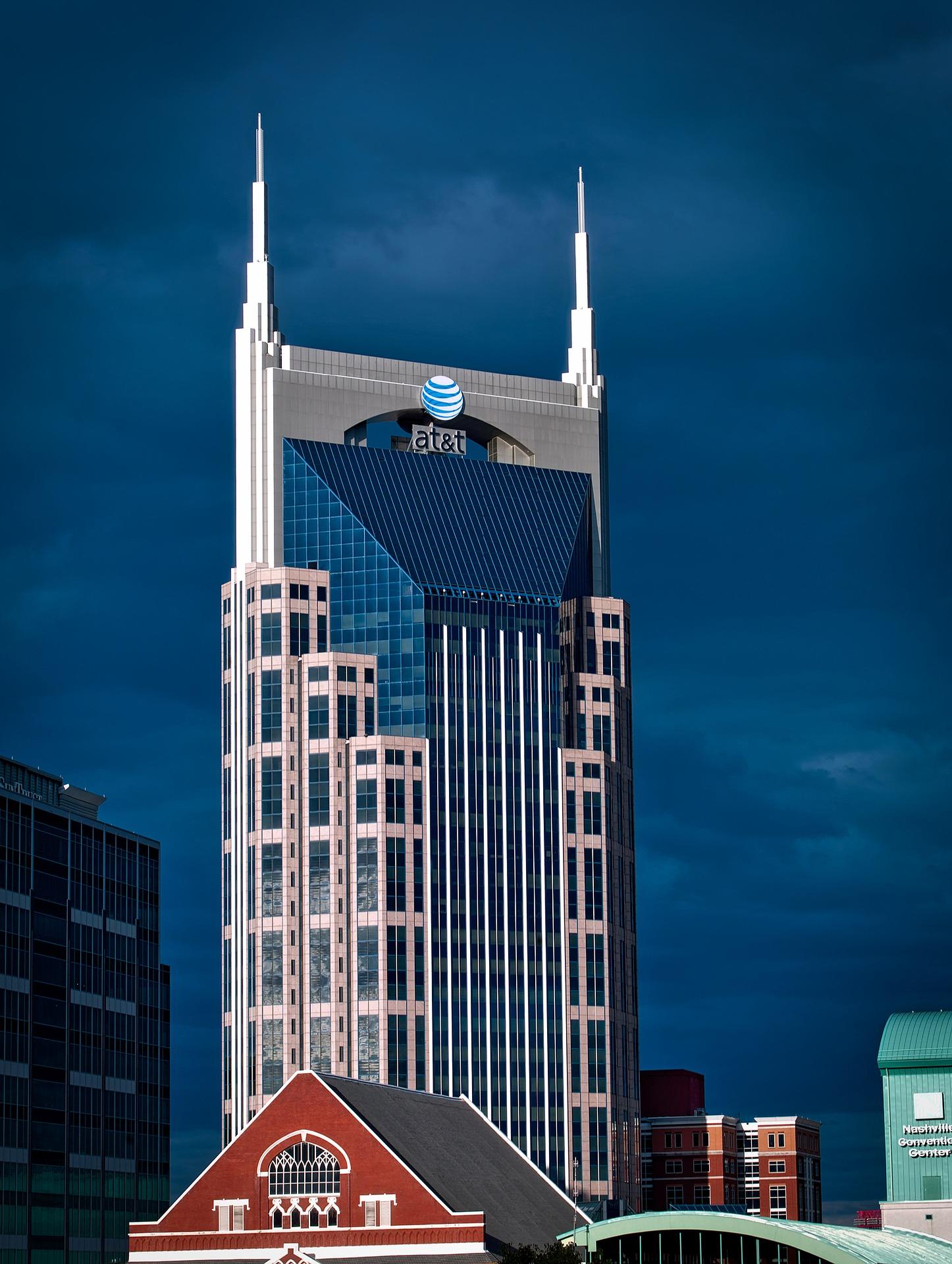 AT&T, nashville-1624093_1920