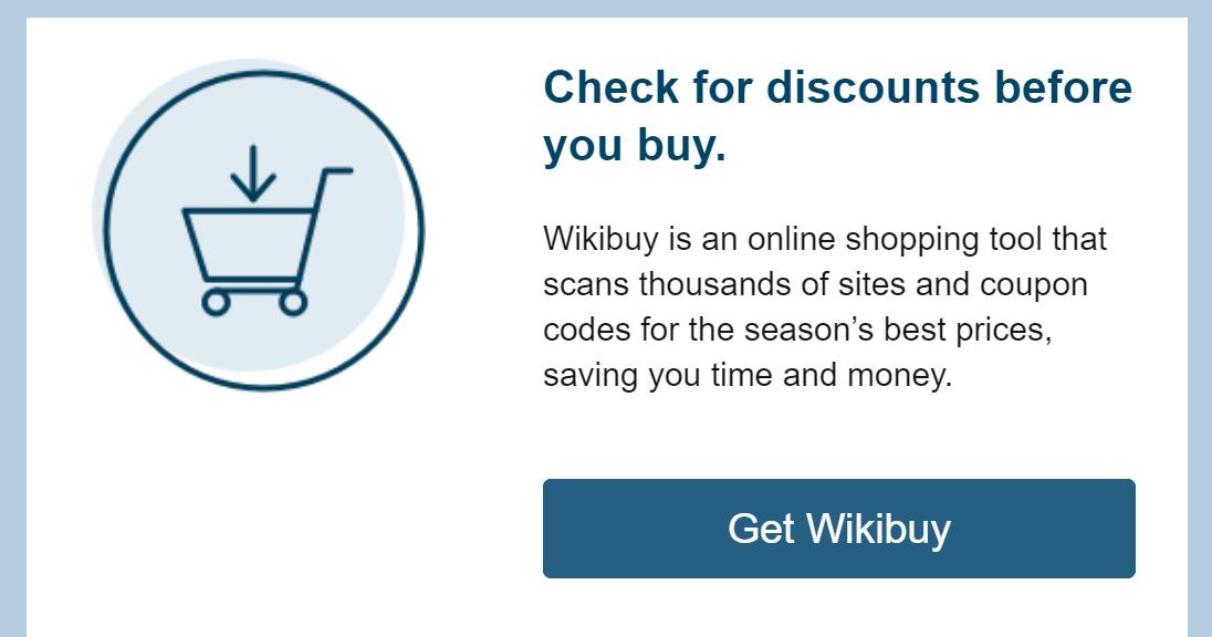 capital One, Wikibuy