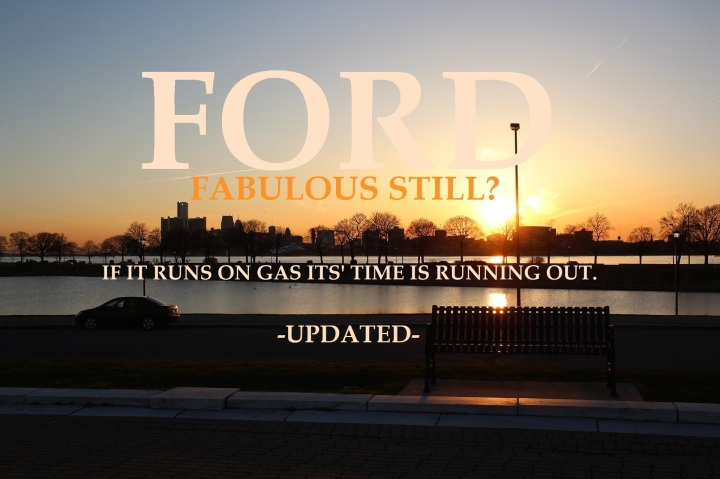 Graphic, cover, Ford Fabulous Still, UPDATE
