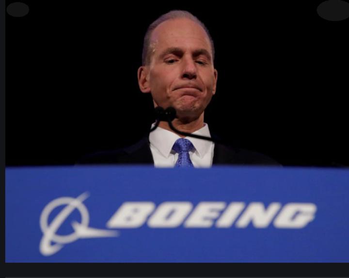 Boeing, CEO Dennis Muilenburg
