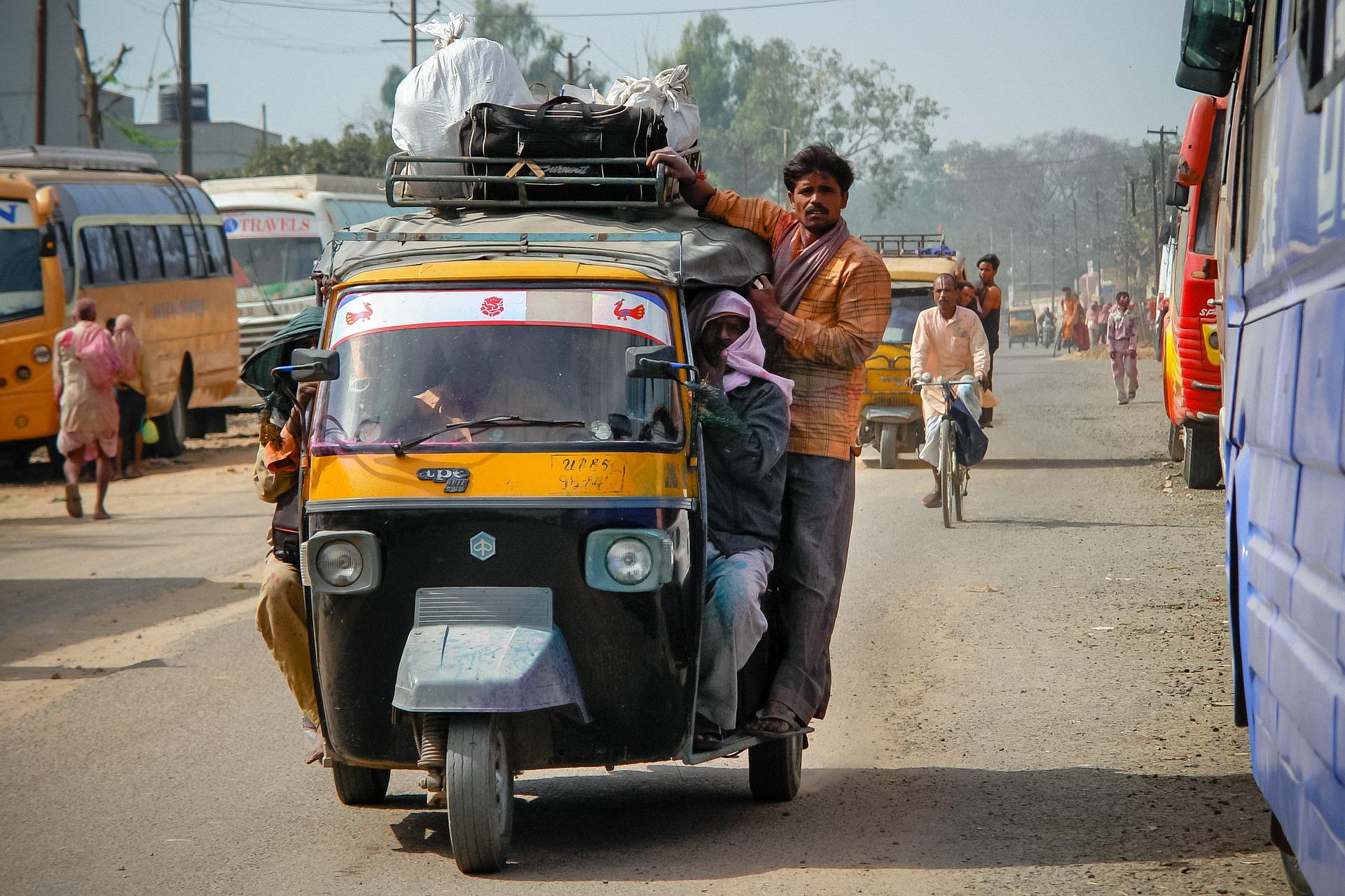 car, rickshaw