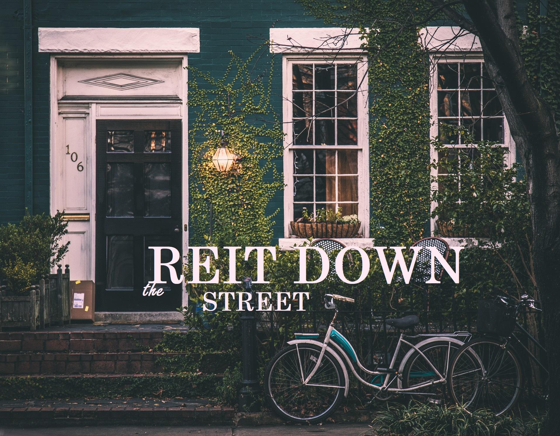 MFA REIT down the street
