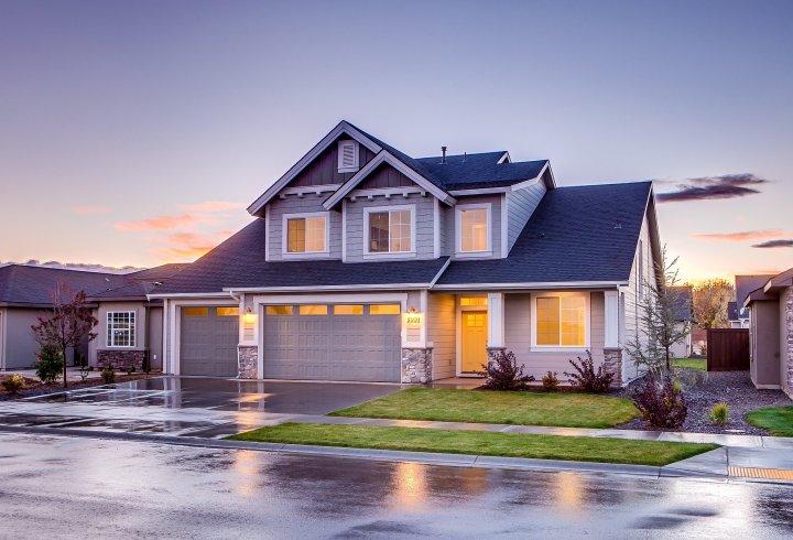 residential, street, house