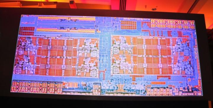 AMD, die cutout, Ryzen 7 1800x CPU