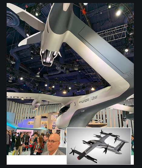 CES, 2020, Hyundai's flying taxi