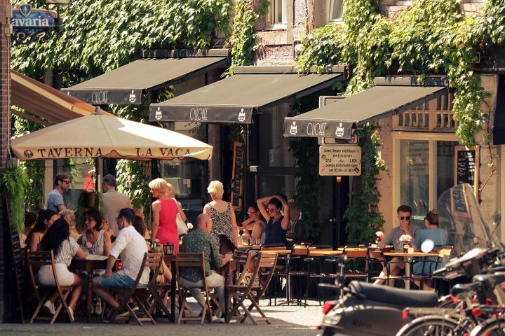 cafe, city, street