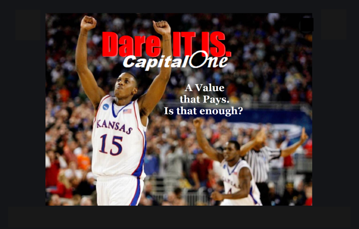 Graphic, cover, Capital One 215 Value