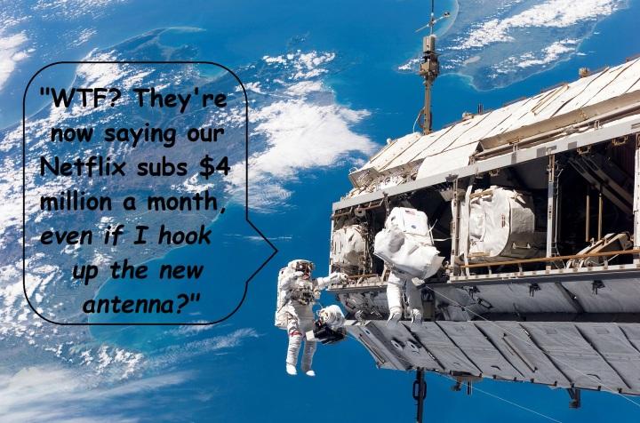 space walk, NFLX